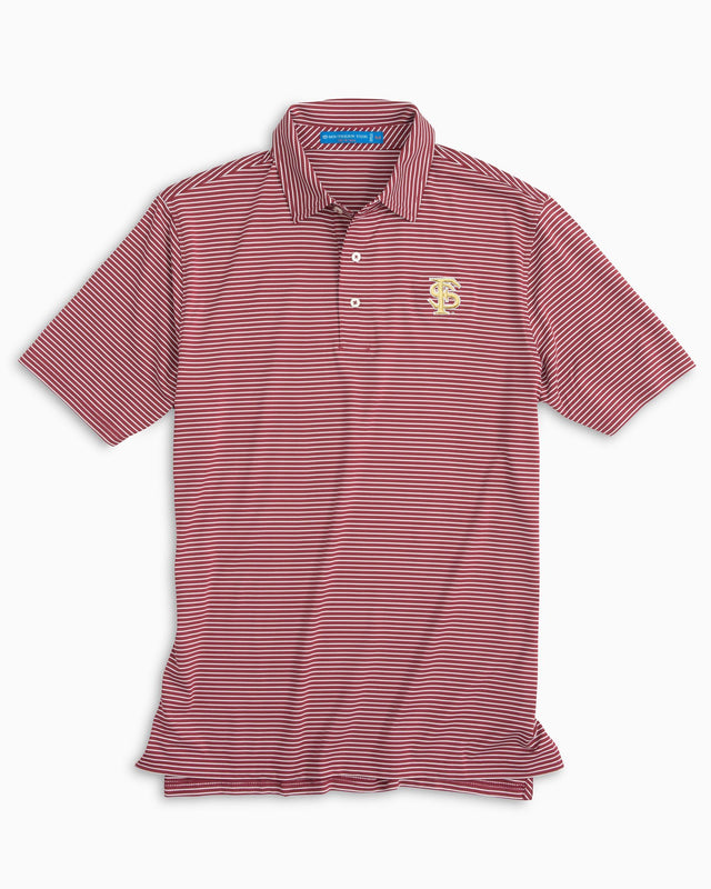 Gameday Stripe Polo - Florida State University | Southern Tide