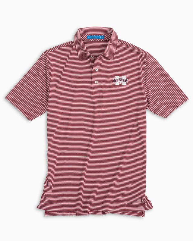 Gameday Stripe Polo - Mississippi State University | Southern Tide
