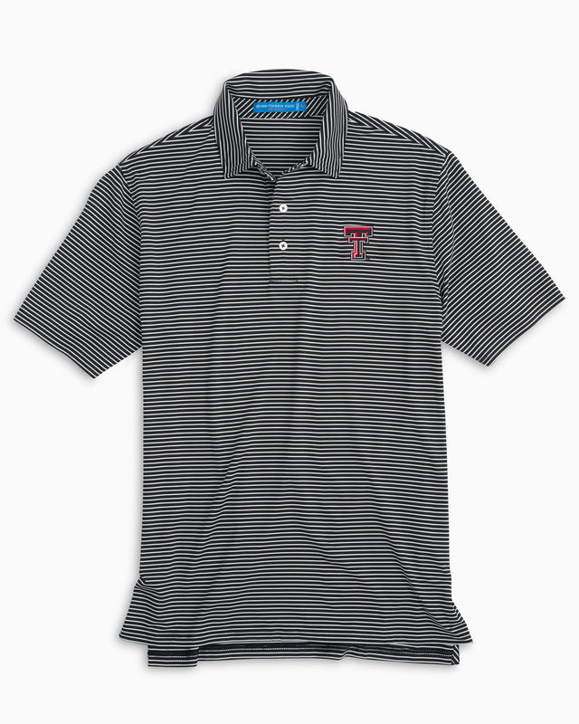 Texas Tech Striped Polo Shirt | Southern Tide