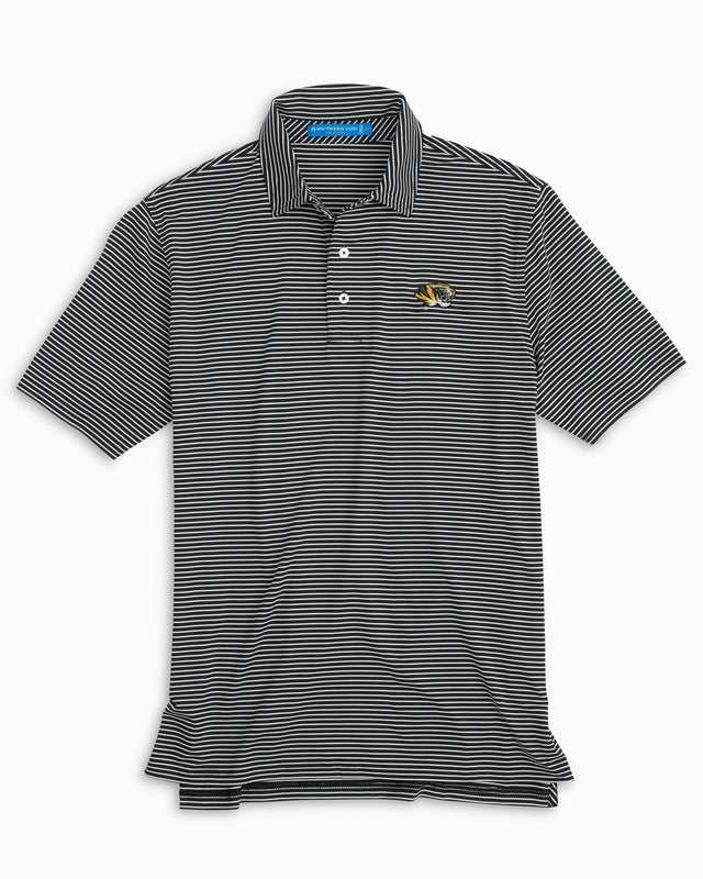 Missouri Tigers Striped Polo Shirt | Southern Tide