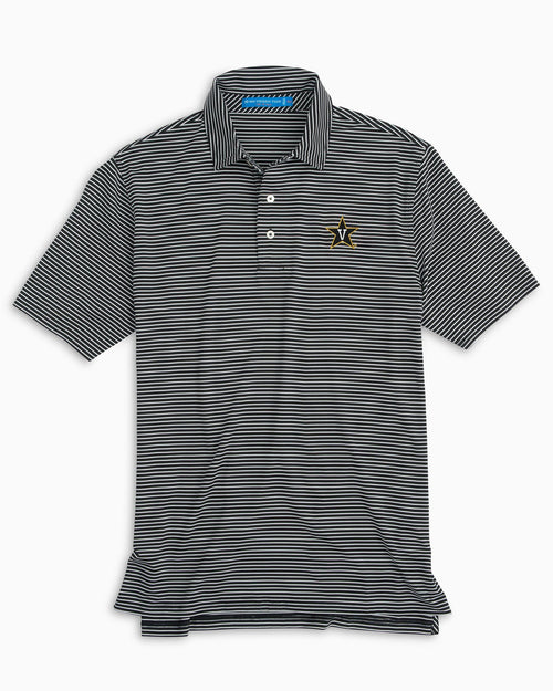 Vanderbilt Striped Polo Shirt | Southern Tide