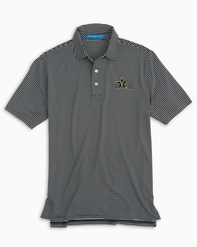 Gameday Stripe Polo - Vanderbilt University | Southern Tide