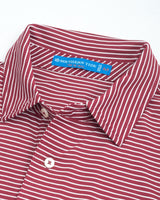 Virginia Tech Hokies Striped Polo Shirt | Southern Tide