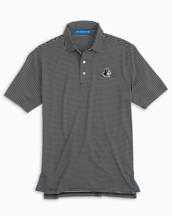 Wofford Striped Polo Shirt