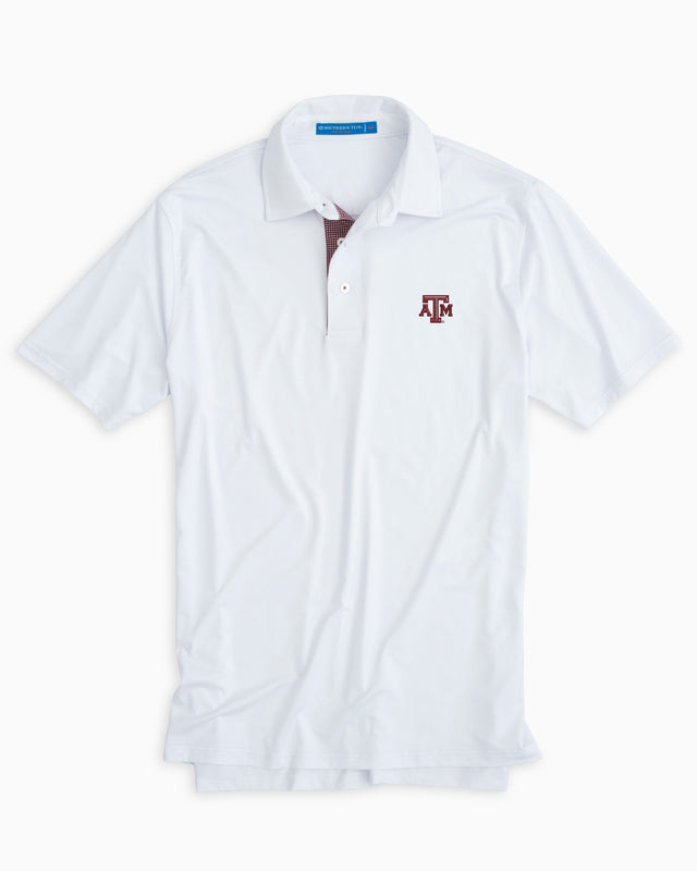 Gameday Tattersall Placket Polo - Texas A&M University | Southern Tide