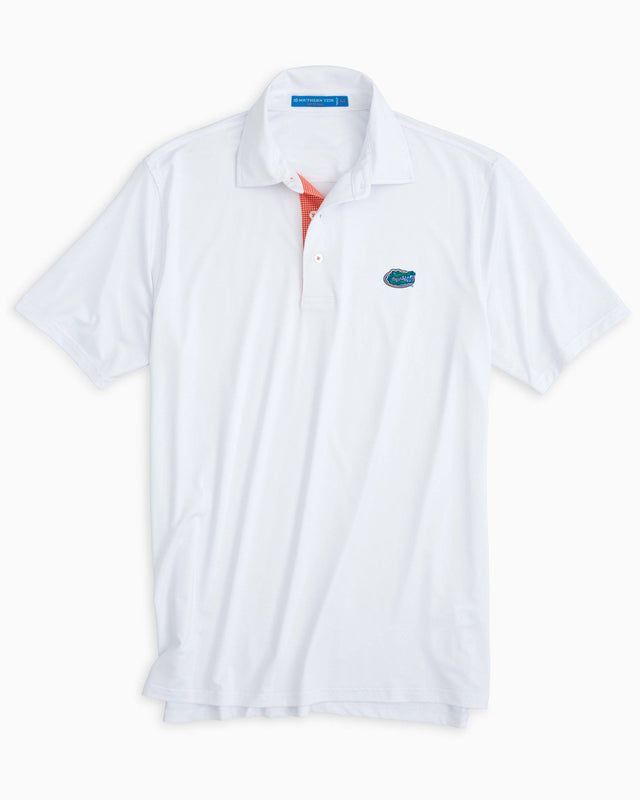 Gameday Tattersall Placket Polo - University of Florida | Southern Tide
