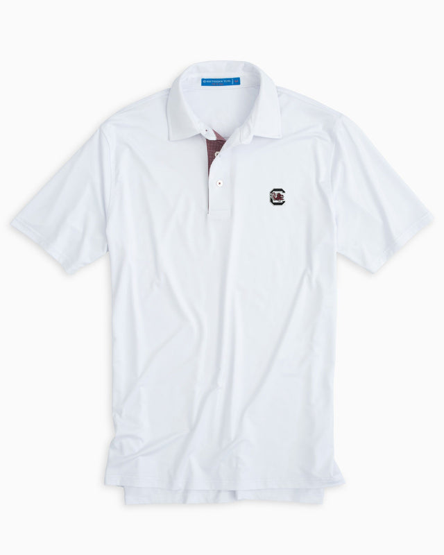 Gameday Tattersall Placket Polo - University of South Carolina | Southern Tide