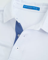 UVA Cavaliers Plaid Placket Polo Shirt | Southern Tide