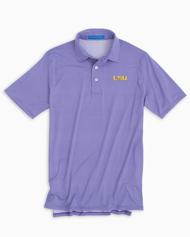 Gameday Tattersall Polo - Louisiana State University | Southern Tide