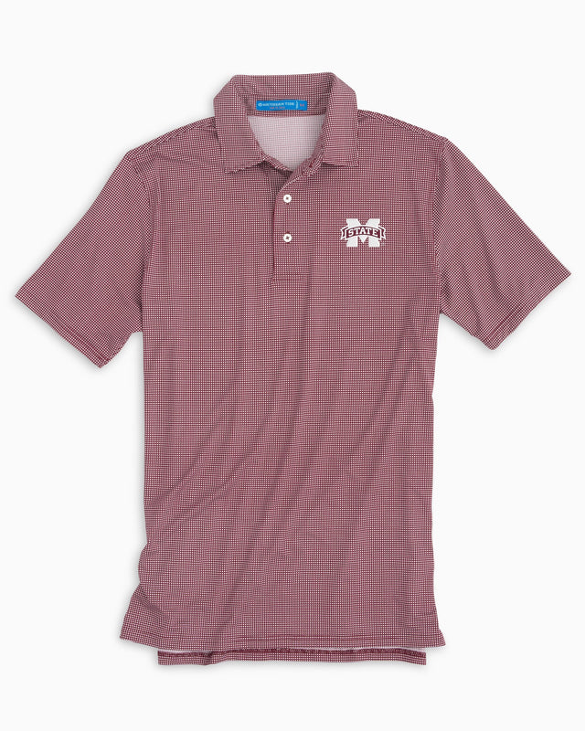 Gameday Tattersall Polo - Mississippi State University | Southern Tide