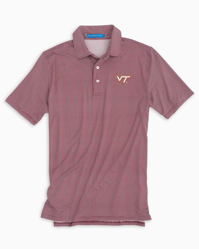 Gameday Tattersall Polo - Virginia Tech | Southern Tide