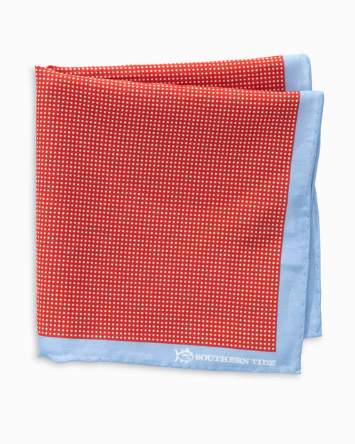 Jamestown Dot Pocket Square | Southern Tide