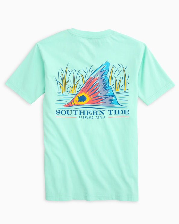 Image of Kids Fishing Tails T-shirt