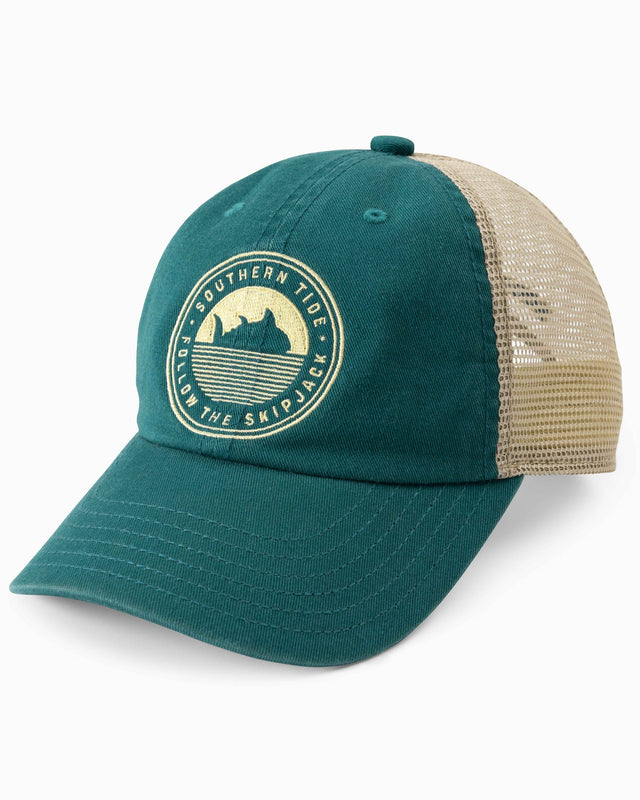 Kids Follow the Skipjack Embroidered Trucker Hat | Southern Tide