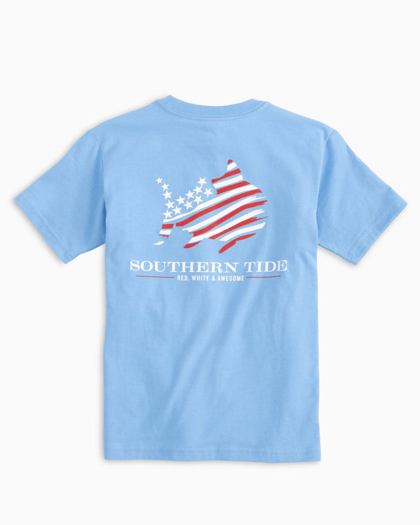Kids Red, White & Awesome T-shirt
