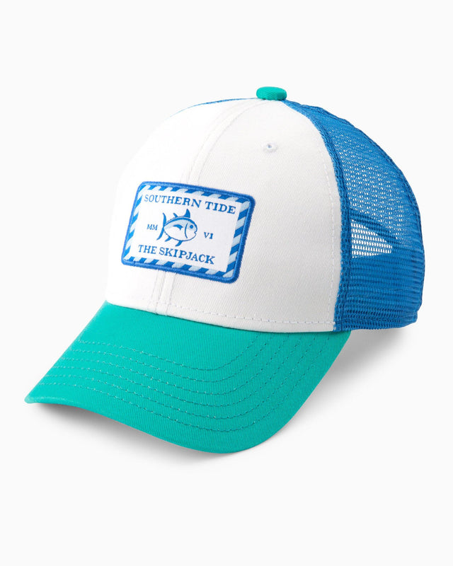 Kids Skipjack Patch Trucker Hat | Southern Tide