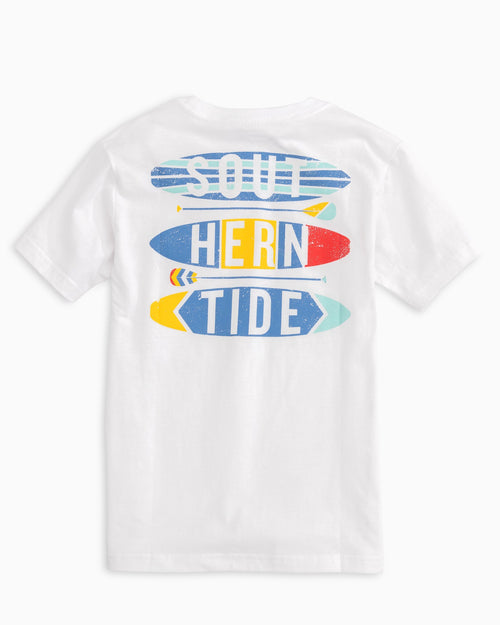 Kids Southern Paddles and Boards T-shirt | Southern Tide