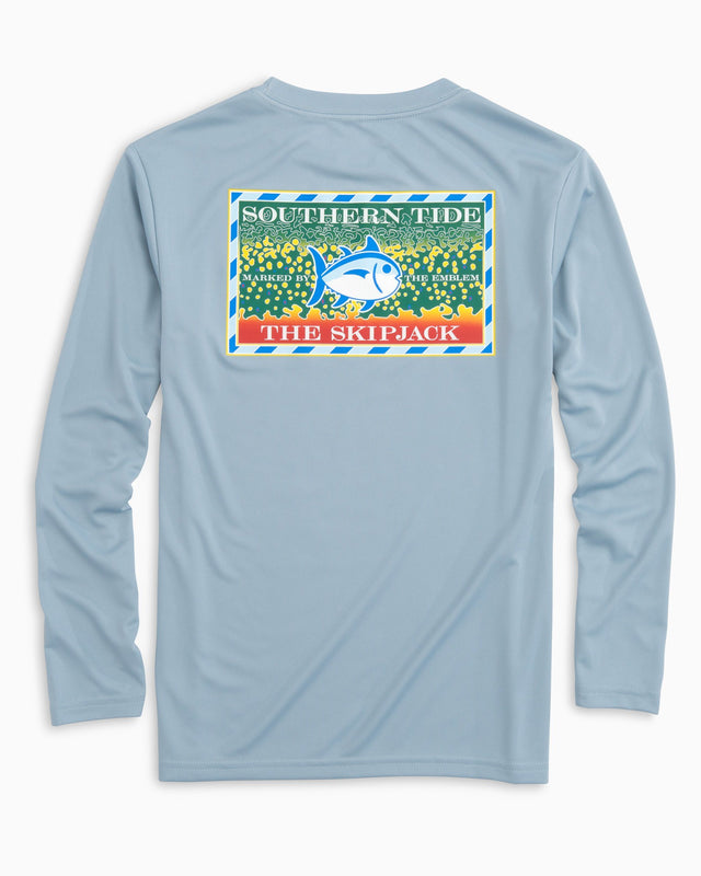 Kids Southern Slam Long Sleeve Performance T-Shirt | Southern Tide