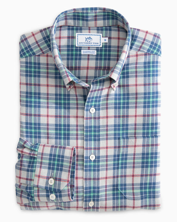 Image of Balsam Plaid Button Up Shirt
