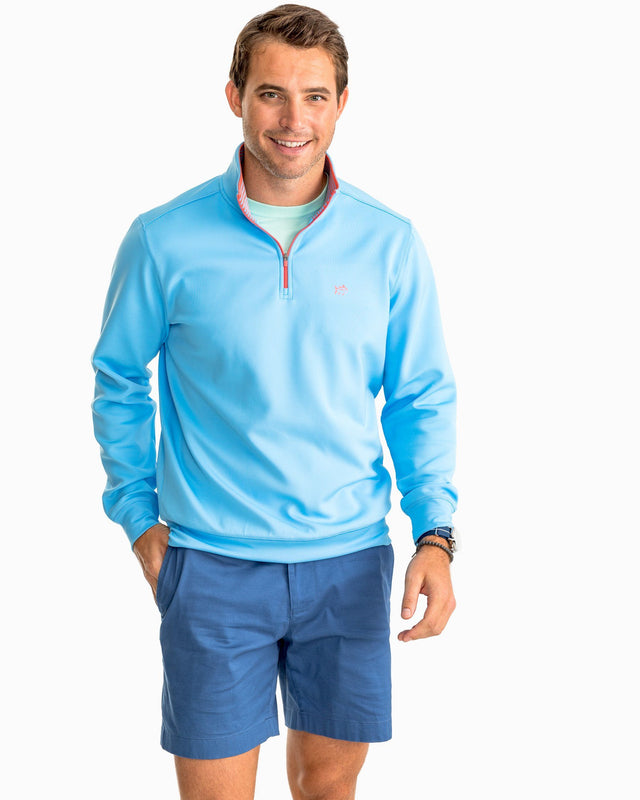 Breakwater Performance 1/4 Zip Pullover | Southern Tide