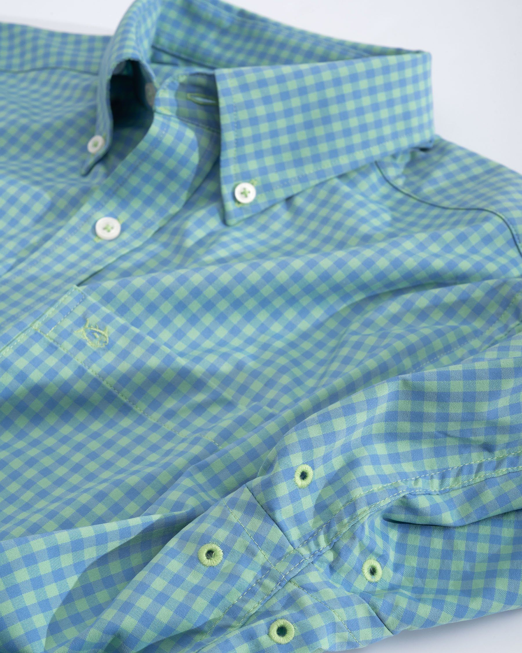 Causeway Gingham Intercoastal Performance Shirt