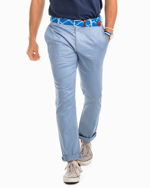 Channel Marker Chino Pant - Tsunami Grey | Southern Tide