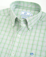 Duneside Plaid Intercoastal Performance Sport Shirt | Southern Tide