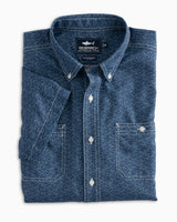 Duval Short Sleeve Ocearch Button Down Dock Shirt | Southern Tide