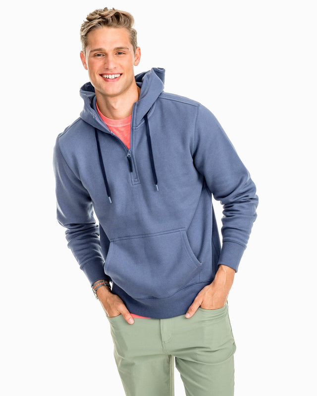 Fairmount Water-Resistant Fleece Hoodie | Southern Tide