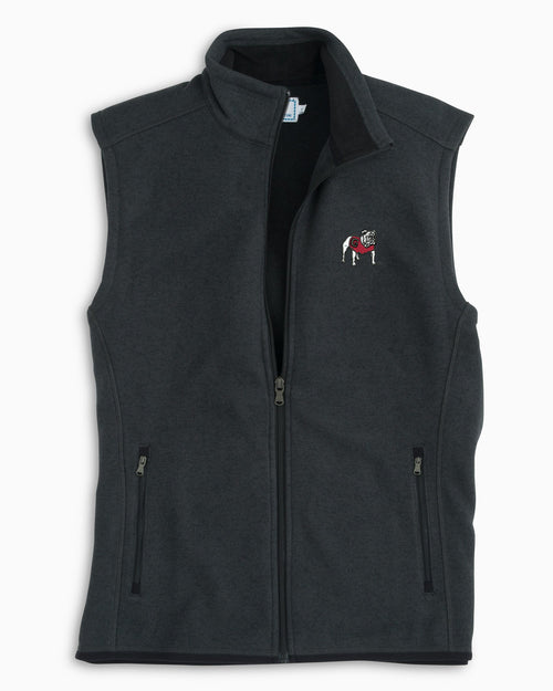 Georgia Sweater Fleece Vest | Southern Tide