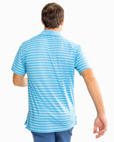 Gator Stripe Performance Polo | Southern Tide