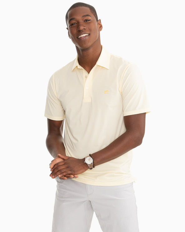 Haig Point Stripe brrr Performance Polo Shirt