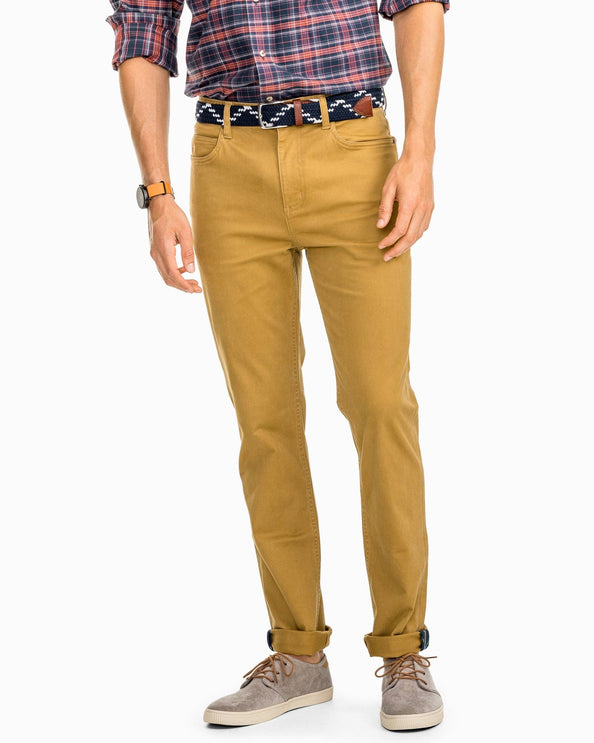 Harbor 5-Pocket Pant - Sepia