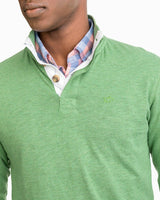 Heathered Gulf Stream Lightweight Pullover | Southern Tide