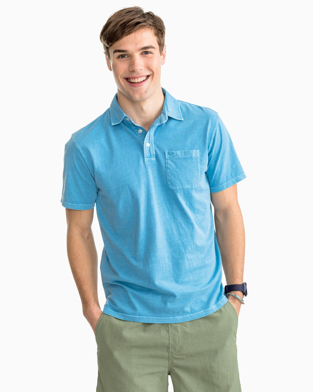 Island Road Cotton Jersey Polo Shirt | Southern Tide