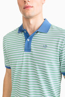 Jack Striped Performance Pique Polo Shirt | Southern Tide