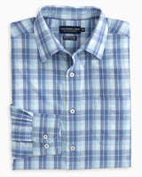 Mainstay Plaid brrr Intercoastal Performance Sport Shirt | Southern Tide