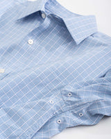 Marsh Plaid brrr Intercoastal Performance Sport Shirt | Southern Tide