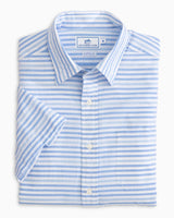 Ocean View Stripe Short Sleeve Button Down Shirt | Southern Tide