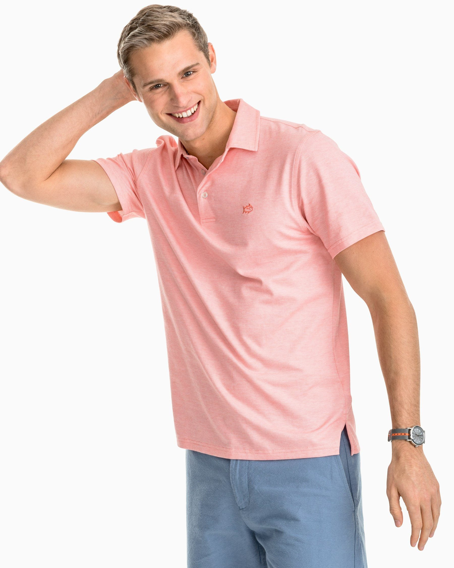 064be1a8a Mens Slim Fit Polo Shirts – Jacquard Textured