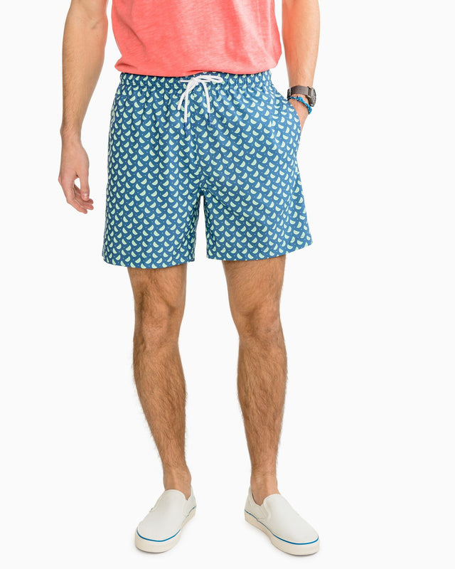 Pick Up Limes Swim Trunk | Southern Tide