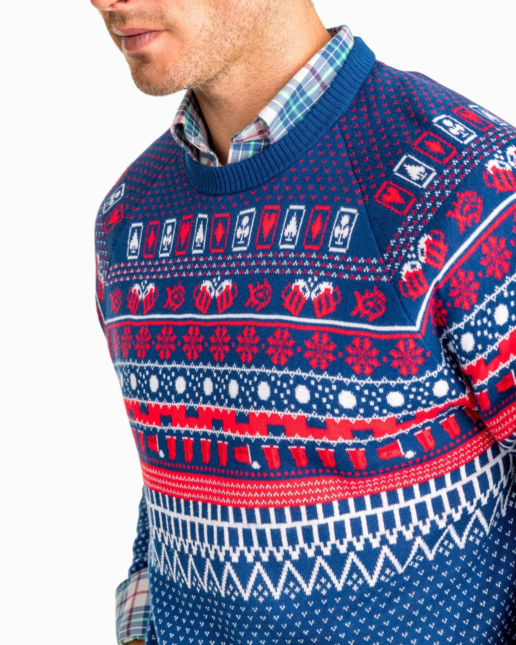 Funny Christmas Sweaters for Men | Southern Tide