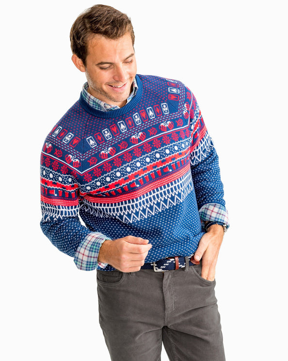 Image of Rendezvous Fair Isle Knit Sweater