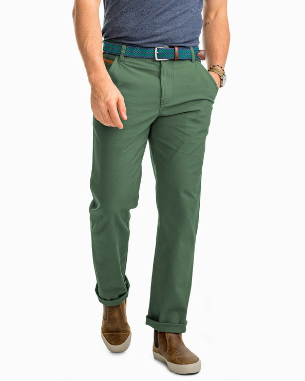RT-7 Rugged 5-Pocket Canvas Pant - Duck Green