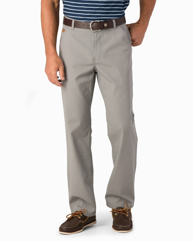RT-7 Rugged 5-Pocket Canvas Stretch Pant - Steel Grey | Southern Tide