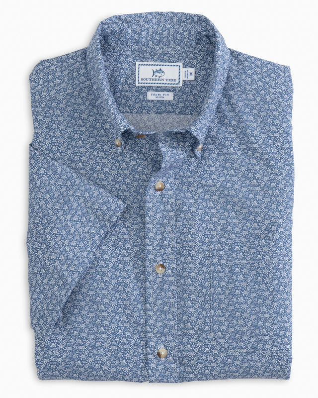 Sea Turtles Short Sleeve Button Down Shirt | Southern Tide