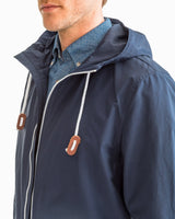 Seafaring Hooded Full Zip Jacket | Southern Tide