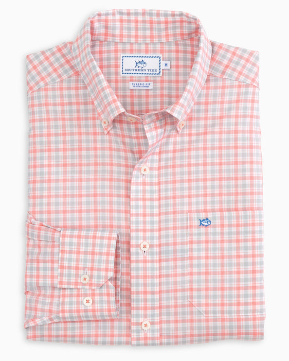 Seaward Plaid Button Down Shirt