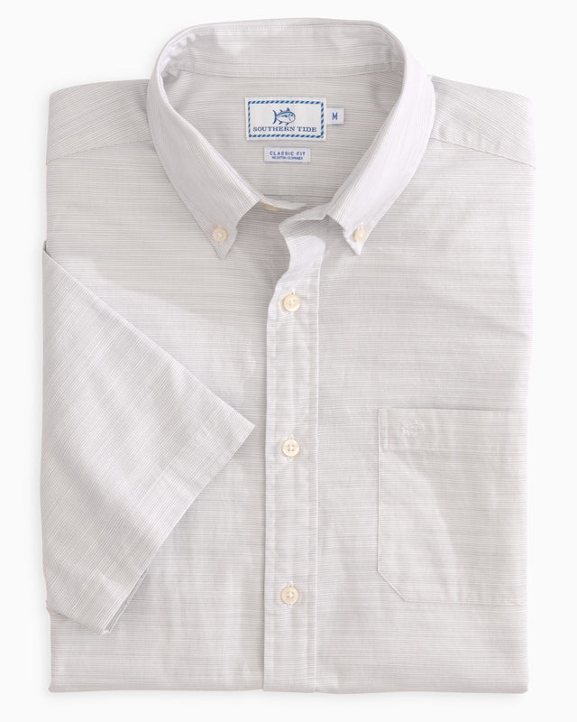 Seven Mile Beach Short Sleeve Button Down Shirt | Southern Tide