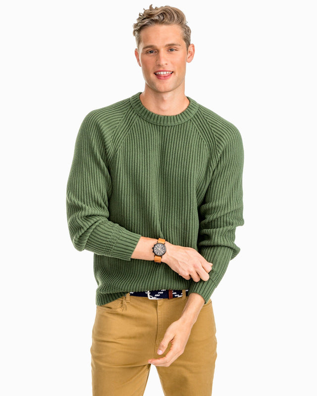 Shaker Crew Neck Sweater | Southern Tide